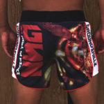 Thai hornet mma shorts