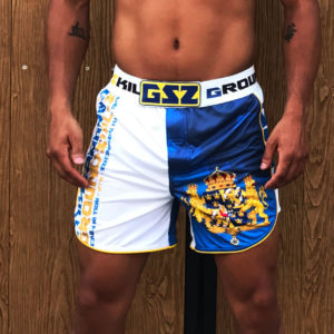 MMA shorts Swedish design
