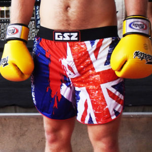 British MMA shorts