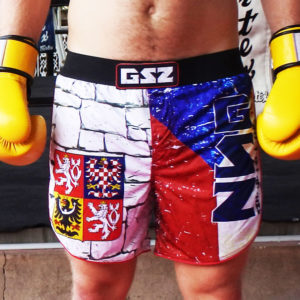 Czech Republic MMA Shorts