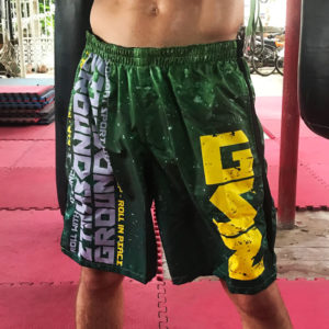Groundskillz everyday shorts green